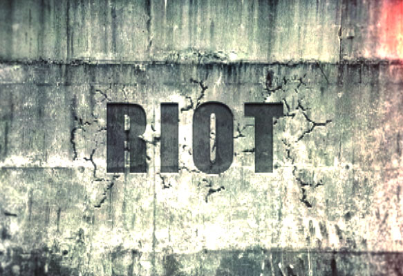 Riot music video production